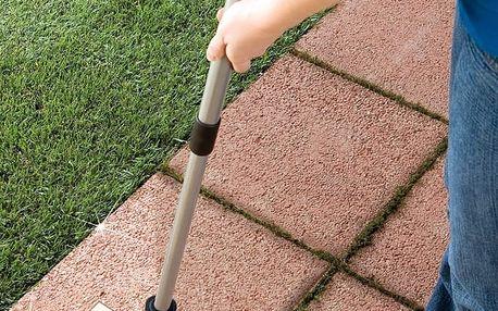 Účinně usnadňuje úklid v zahradě.