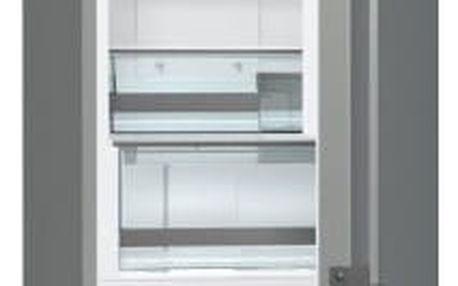 Kombinace chladničky s mrazničkou Gorenje NRK6202TX šedá/nerez + DOPRAVA ZDARMA