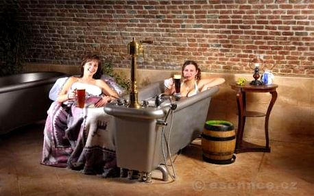 Pobyt v pivních lázních Chodovar (1 noc)