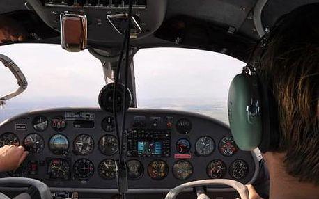 Pilotem na zkoušku Brno