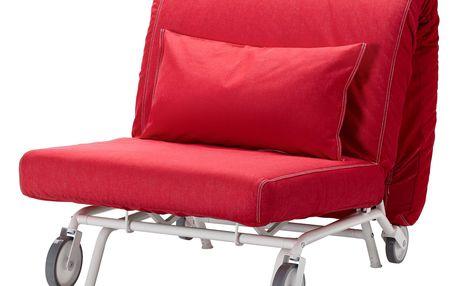 Rozkládací křeslo IKEA PS MURBO Vansta červená