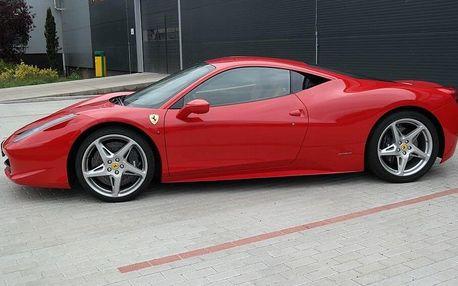 Jízda ve Ferrari 458 Italia