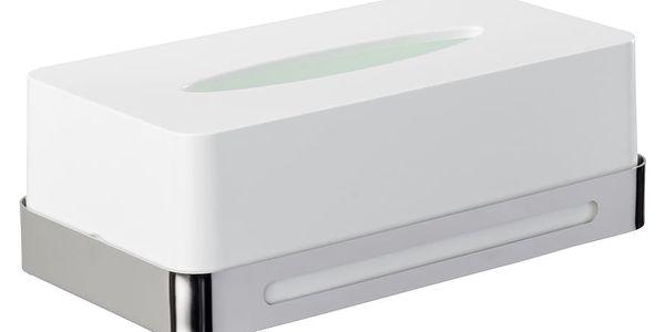 Wenko Krabice na kapesníky PREMIUM PLUS, nástěnné nerezová ocel 40088382265132
