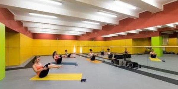 Permanentka do fitness + lekce + vířivka zdarma4