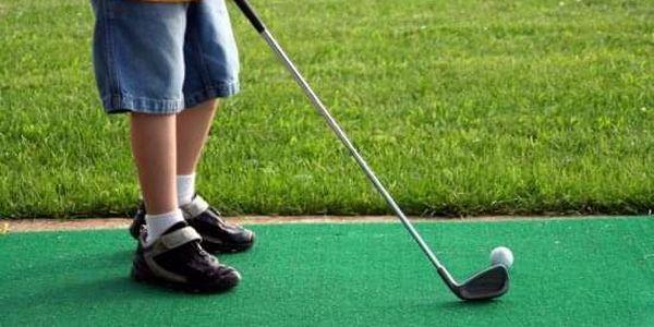 Golf - lekce pro děti2