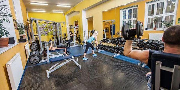 Permanentka do fitness + lekce + vířivka zdarma5