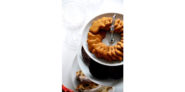 EH Excellent Houseware Kulatý podnos na koláče, dorty, ovoce 3 patra, keramický 87112957059083