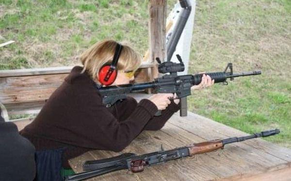 Střelba - různé zbraně2