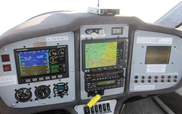 Pilotem na zkoušku malého letadla Praha2