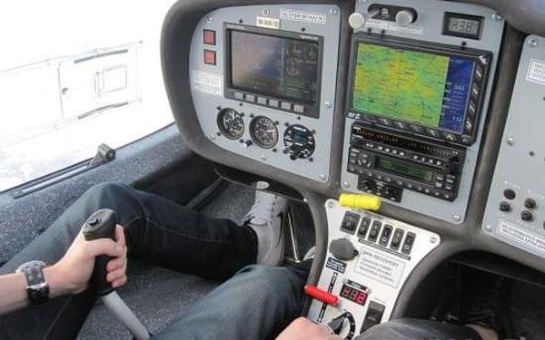 Pilotem na zkoušku malého letadla Praha3