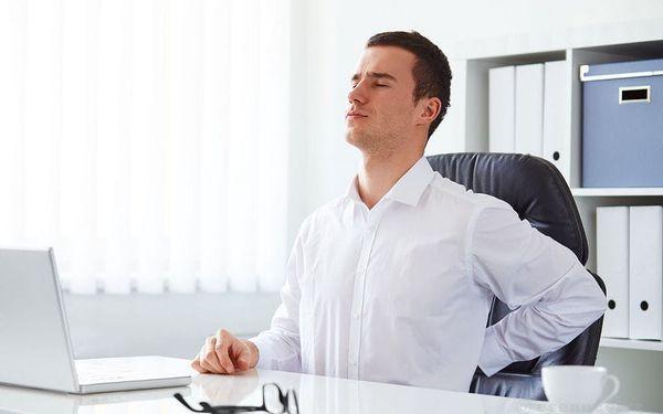 Sedavé zaměstnání - speciální masáž