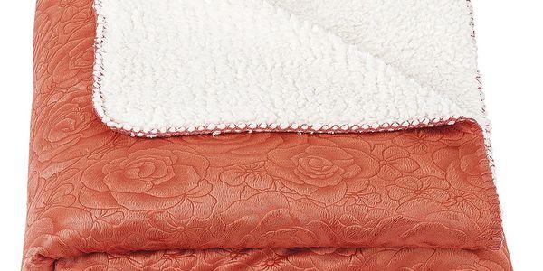 4Home beránková deka Luxury oranžová, 150 x 200 cm2