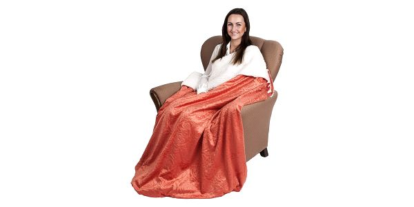 4Home beránková deka Luxury oranžová, 150 x 200 cm4