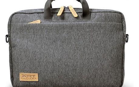 Brašna na notebook PORT DESIGNS Torino Toploading pro 13,3'' (140400) šedá