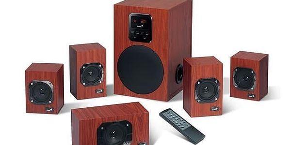 Reproduktory Genius SW-HF 4800 5.1 (31731048100) imitace dřeva2