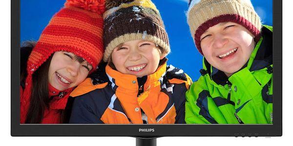Monitor Philips 223V5LSB (223V5LSB/00) černý4