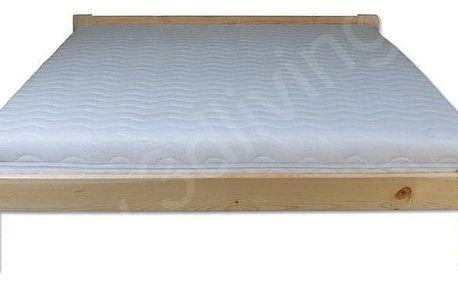 Dřevěná postel 120x200 LK107 olše
