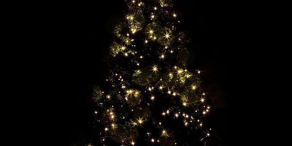 Voltronic 39456 Vánoční LED osvětlení 20 m - teple bílá 200 LED - zelený kabel2