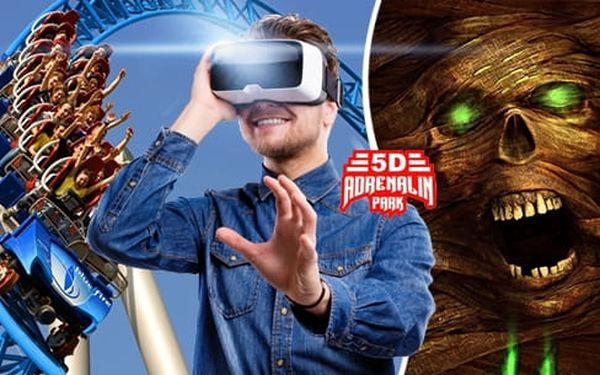 5D Adrenalin Park Plzeň: vstupenka do 5D kina na 1 libovolný film z aktuální nabídky pro 1 osobu2