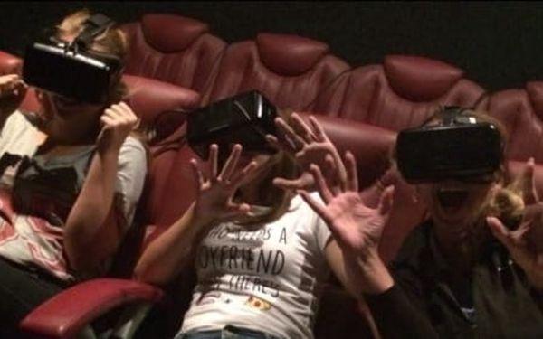 5D Adrenalin Park Plzeň: vstupenka do 5D kina na 1 libovolný film z aktuální nabídky pro 1 osobu3