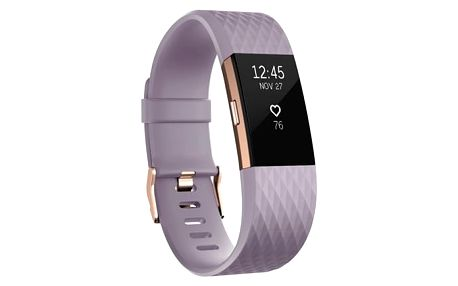 Fitness náramek Fitbit Charge 2 small - Lavender Rose Gold (FB407RGLVS-EU) + DOPRAVA ZDARMA