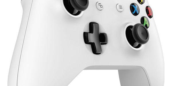 Gamepad Microsoft Wireless - bílý (TF5-00004)2