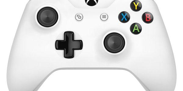 Gamepad Microsoft Wireless - bílý (TF5-00004)5