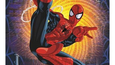 Jerry Fabrics Dětská fleece deka Spiderman, 100 x 150 cm