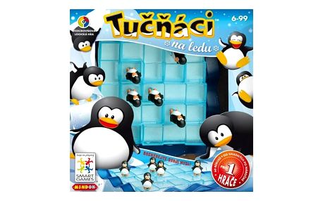 Hra Mindok SMART - Tučňáci na ledu + Doprava zdarma