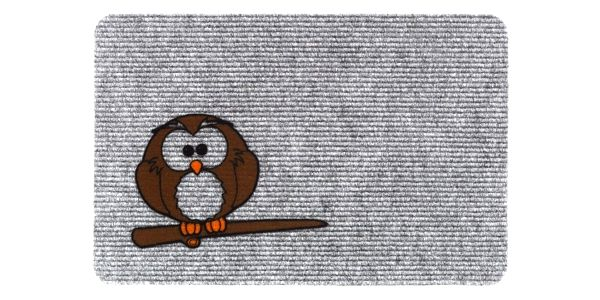 Vopi Vnitřní rohožka Flocky sova 205/086, 40 x 60 cm