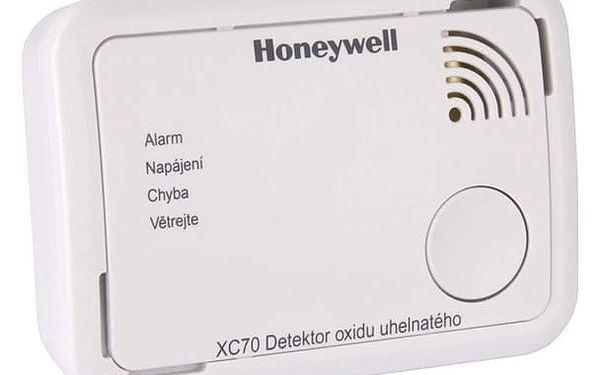 Detektor oxidu uhelnatého Honeywell XC70-CS (XC70-CS) bílé