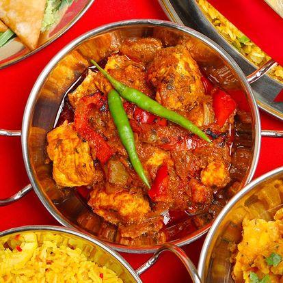 Vůně dálek: Napěchované indické menu pro 2