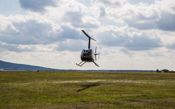 Let vrtulníkem R44 nad Brněnskou přehradou, 20 minut letu + příprava, počet osob: 1 osoba, Brno Tuřany (Jihomoravský kraj)4
