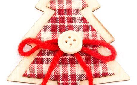 Dřevěná vánoční dekorace - Strom