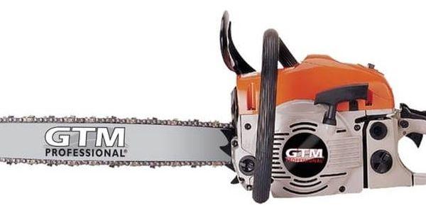 Pila řetězová GTM GTC 50, benzínová + Doprava zdarma2