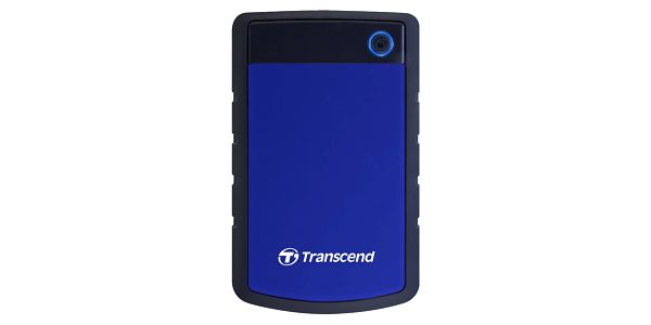 "Externí pevný disk 2,5"" Transcend 1TB (TS1TSJ25H3B) černý/modrý3"