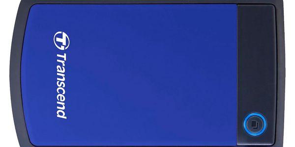 "Externí pevný disk 2,5"" Transcend 1TB (TS1TSJ25H3B) černý/modrý4"