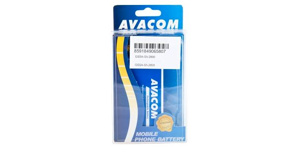 Baterie Avacom pro Samsung Galaxy S5, Li-Ion 2800mAh (náhrada EB-BG900BBE) (GSSA-S5-2800)3