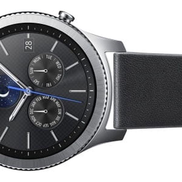 Výměnný pásek Samsung kožený pro Gear S3 Classic (ET-YSL76MBEGWW) černý3