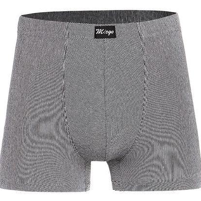 Pánské boxerky - nadměrná velikost modrá