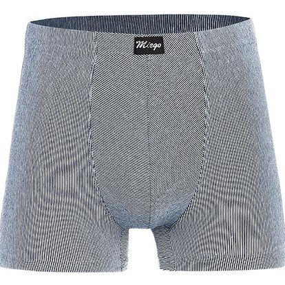 Pánské boxerky - nadměrná velikost světle modrá