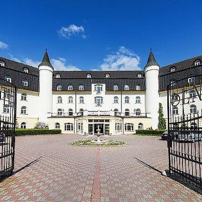 3–5denní luxusní wellness pobyt s polopenzí pro 2 osoby v hotelu SEN**** v Senohrabech