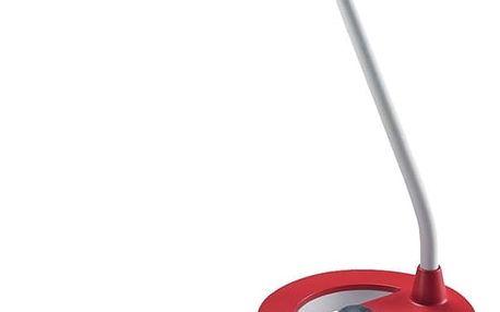 Stolní LED lampička Solight WO38 stmívatelná, 6W (WO38-R) bílá/červená