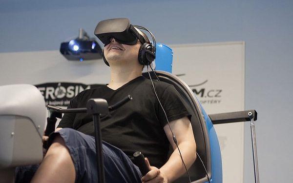 Staň se pilotem helikoptéry: Plně pohyblivý simulátor s 3D brýlemi4