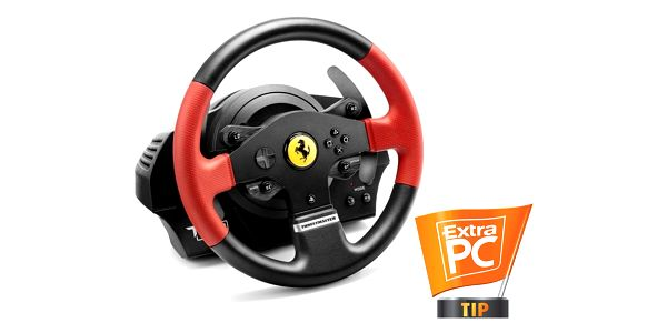 Volant Thrustmaster T150 Ferrari pro PS4, PS3, PC + pedály (4160630) černý + DOPRAVA ZDARMA3
