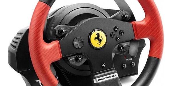 Volant Thrustmaster T150 Ferrari pro PS4, PS3, PC + pedály (4160630) černý + DOPRAVA ZDARMA5
