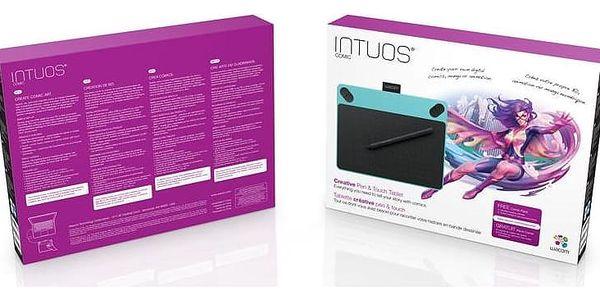 Tablet Wacom Intuos Comic Pen&Touch S (CTH-490CB) modrý3