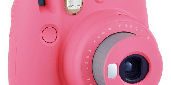 Digitální fotoaparát Fujifilm Instax mini 9 + pouzdro růžový4