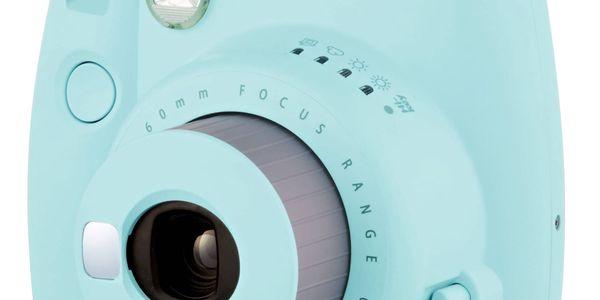 Digitální fotoaparát Fujifilm Instax mini 9 modrý3