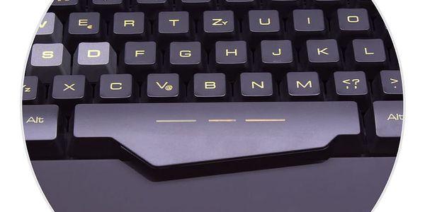 Klávesnice Connect IT ALIEN, CZ (CI-553) černá2